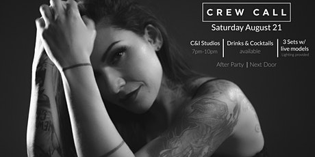 Crew Call 2021 - Tattoos - South Florida's #1 Creative Production Event tickets