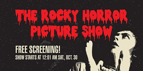 """""""The Rocky Horror Picture Show"""" free screening tickets"""