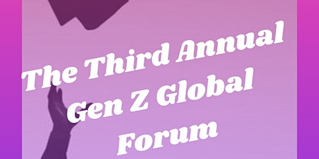 Generation-Z Global Forum 3 tickets