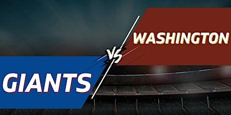 Giants vs. Washington Football Team Tailgate Party + Tickets - January 9th tickets