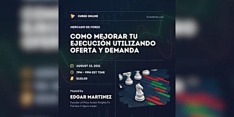 """Como Operar el Mercado de Forex Utilizando el Método de """"Oferta y Demanda"""" entradas"""