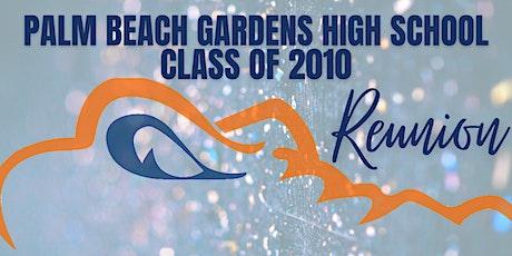 Palm Beach Gardens High School Class of 2010 Reunion tickets