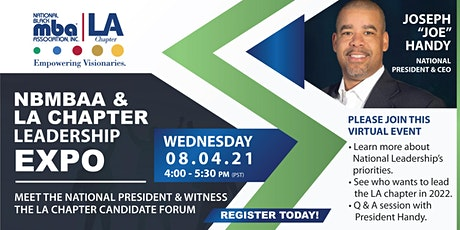 National Black MBA Association & Los Angeles Chapter Leadership Expo tickets