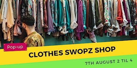 Pop-up Clothes Swopz Shop tickets