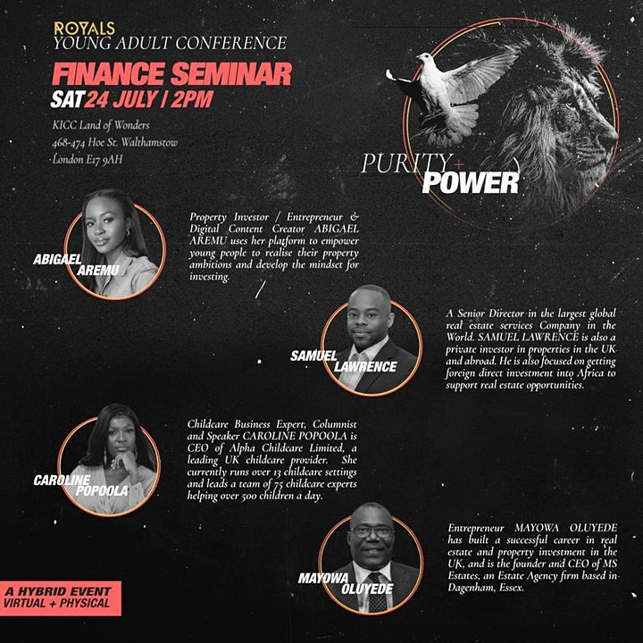 KICC ROYALS CONFERENCE PURITY & POWER 23 - 25 JULY 2021 image