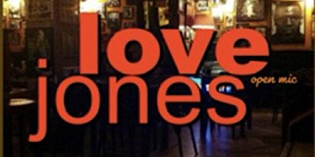 LOVE JONES at THE LOVE BELOW tickets