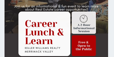 Real Estate Career Lunch & Learn tickets