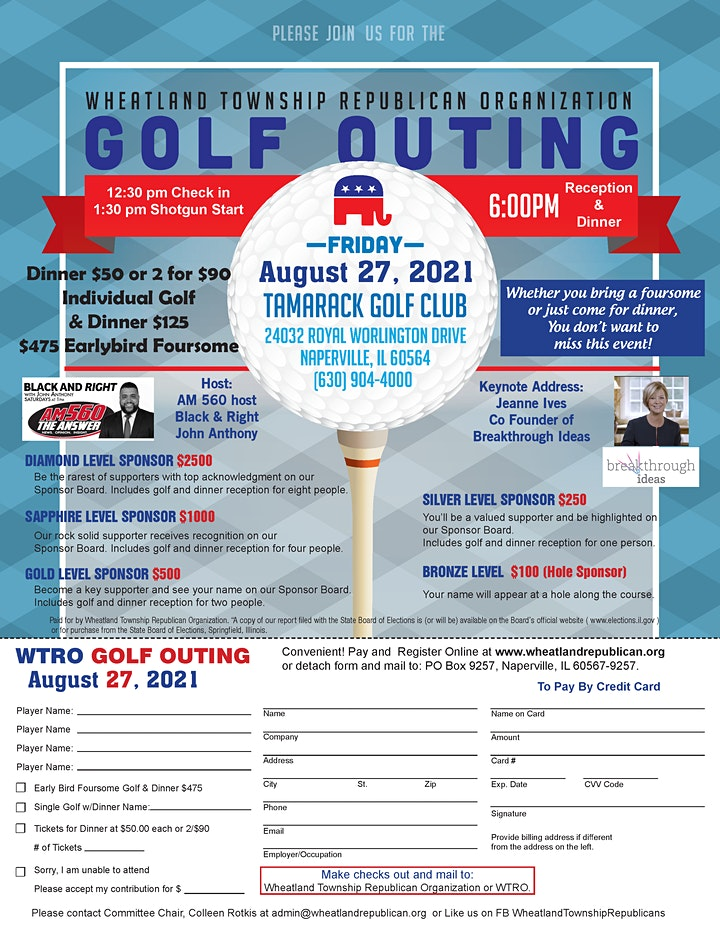 2021 WTRO Golf Outing image