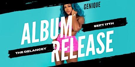Genique's Album Release Show tickets