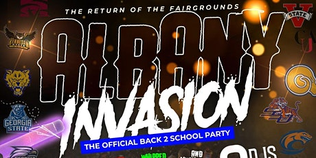 ALBANY INVASION (THE OFFICIAL BACK 2 SCHOOL PARTY) tickets