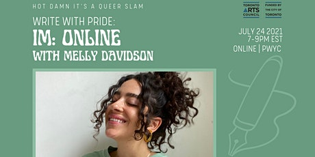 Write With Pride: Poetry Workshop ft. Melly Davidson tickets