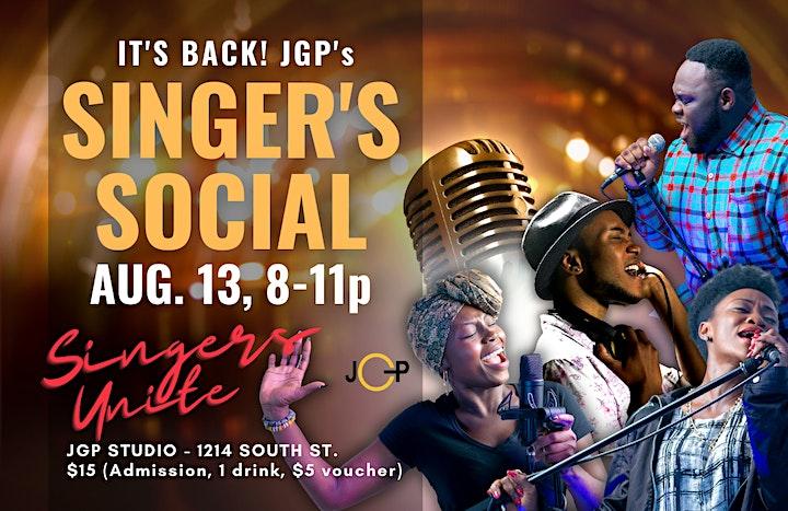 JGP Singer's Social image