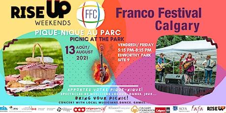 Franco Festival Calgary (CONCERT+ PIQUE-NIQUE/PICNIC) tickets