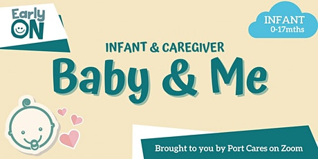 Baby & Me - Safe Sensory Play for Infants tickets