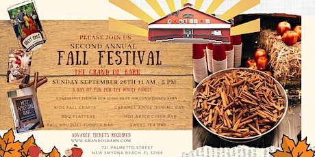Second Annual Fall Festival at The Grand Ol' Barn tickets