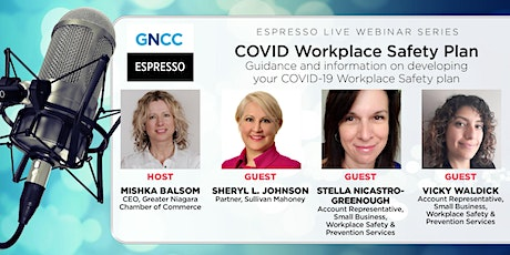 Espresso Live: COVID Workplace Safety Plan: July 29, 2021 tickets