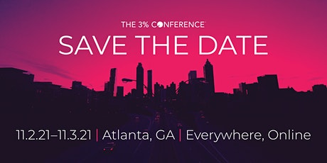 FLASH SALE ~The 10th Anniversary 3% Conference: A Decade of Difference tickets