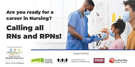 WoodGreen Employment - Michael Garron Hospital  - Nursing Hiring Event tickets