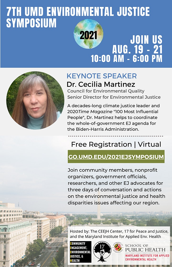 7th Annual UMD Environmental Justice and Health Disparities Symposium image