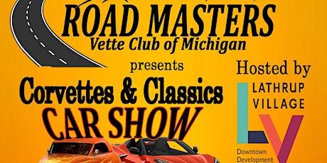 Road Masters Corvette & Classic Car Show tickets