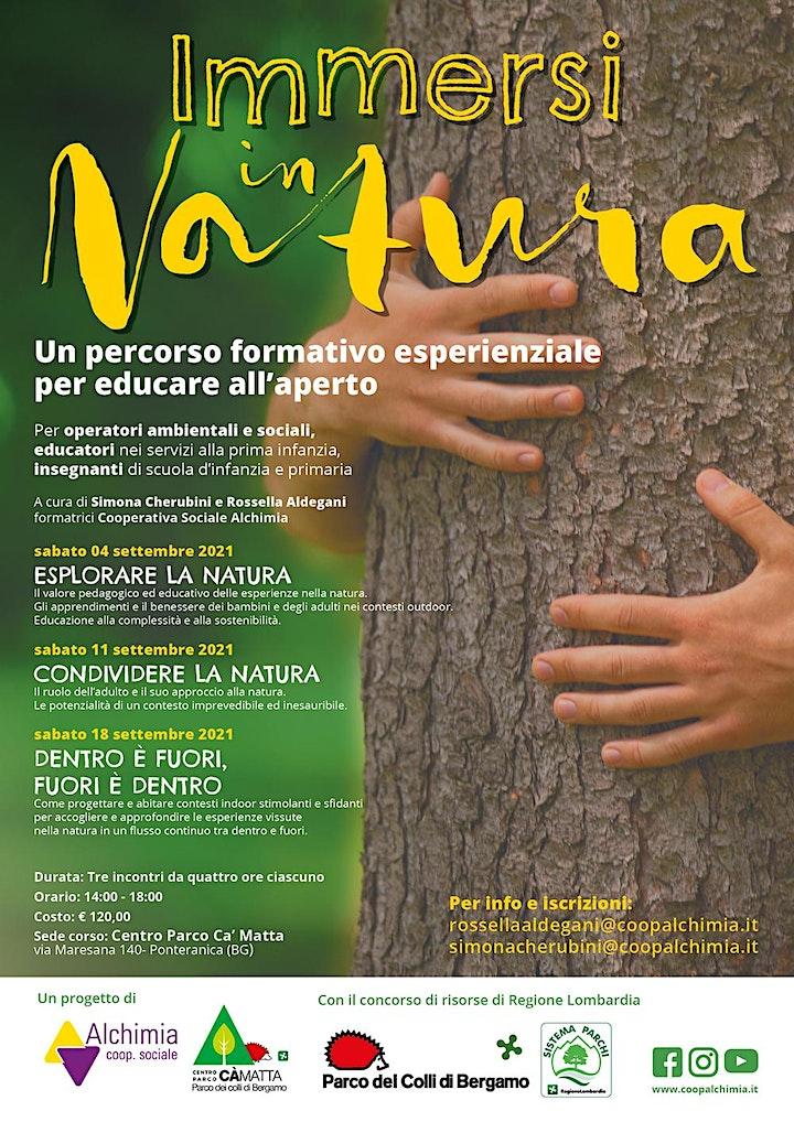Immagine Immersi in Natura - percorso formativo esperienziale per educare all'aperto