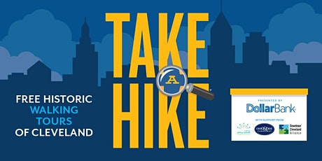 TAKE A HIKE® CLEVELAND - Canal Basin -Guided History Walking Tour tickets