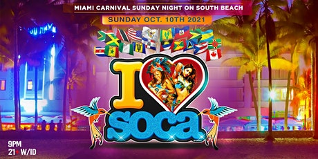 I LOVE SOCA MIAMI 2021 tickets