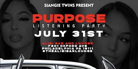 SiAngie Twins Purpose Listening Party! tickets