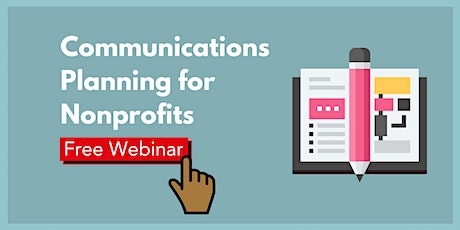Communications Planning for Nonprofits tickets