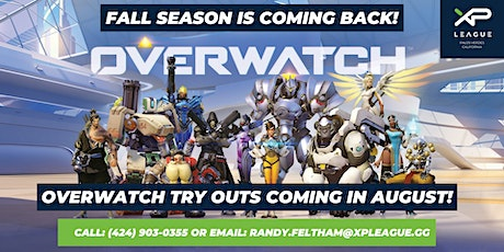 OVERWATCH Youth Esports Tryouts! tickets