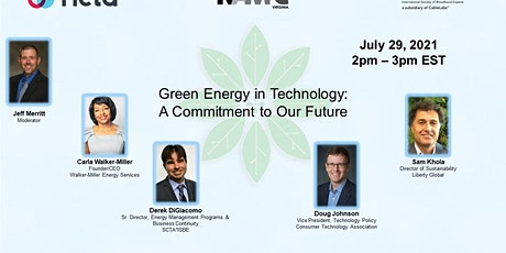 Green Energy in Technology: A Commitment to Our Future tickets
