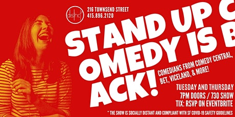 Live Comedy at District SF tickets