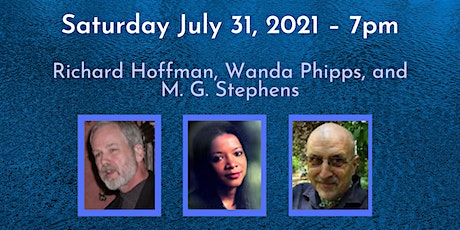 Poetry Reading: Richard Hoffman, Wanda Phipps, and M. G. Stephens tickets