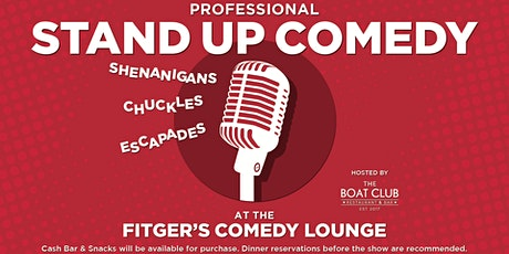 Stand Up Comedy @ Fitgers 8pm. tickets