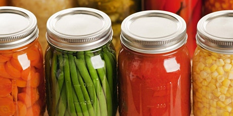 Pressure Canning: 2021 Fall Food Preservation Workshop Series tickets