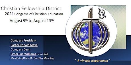 Christian Fellowship District Congress 2021 tickets