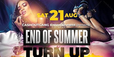 END OF SUMMER TURN UP tickets