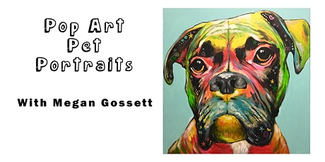 Pop Art Pet Portraits Make-and-Take in November tickets