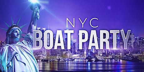 #1 New York City Booze Cruise - Friday Night Boat Party tickets
