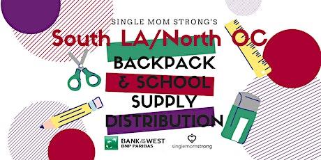 Single Mom Strong's LA/OC Backpack & School Supply Distribution tickets