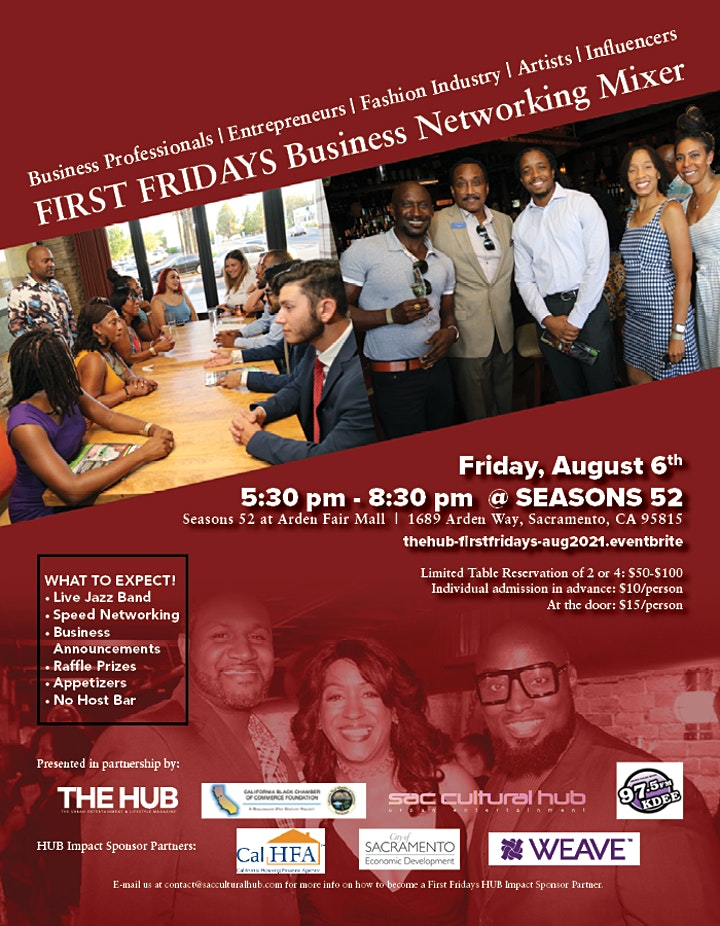 THE HUB's First Friday Business Mixer image