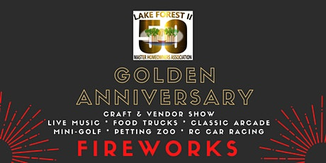 Golden Anniversary Craft & Vendor Show tickets