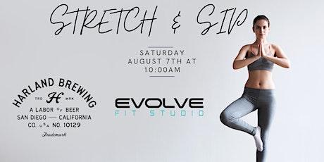 Stretch & Sip Summer Series #2 tickets
