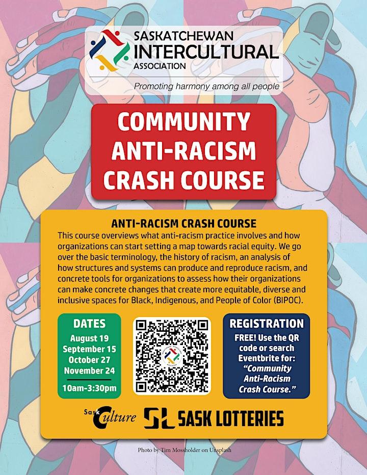 Community Anti-Racism Crash Course image