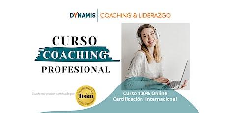 Curso de Coaching Profesional entradas