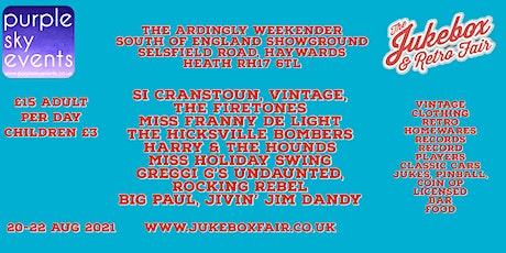 Jukebox & Retro Fair - The Ardingly Weekender tickets