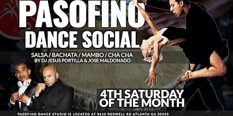 PASOFino Social: Salsa & Bachata Dance in Atlanta tickets