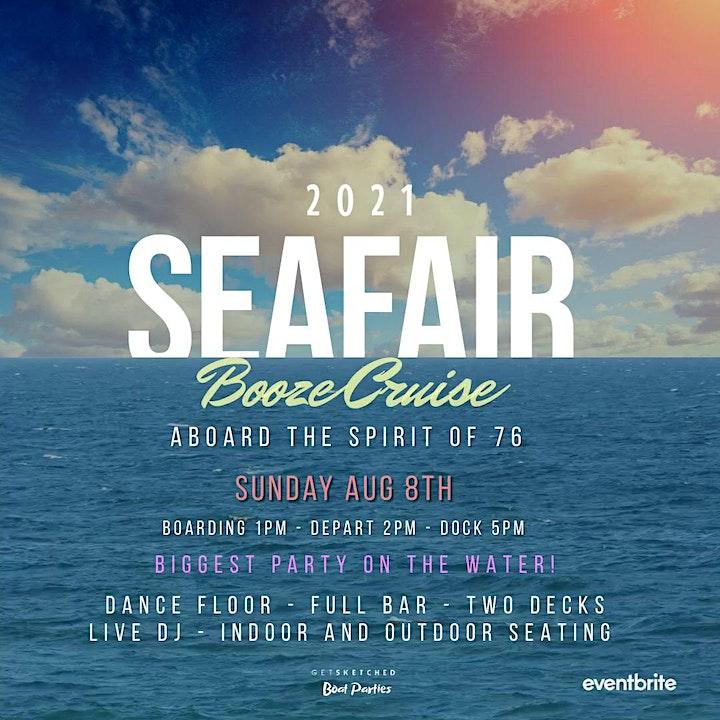 Seafair Booze Cruise 2021 - Sunday image