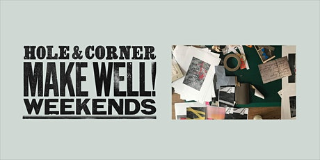 Mail Art Workshop @ Make Well with Hole & Corner tickets