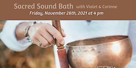 Sacred Sound Bath tickets